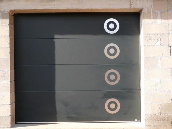 porte de garage électrique alu