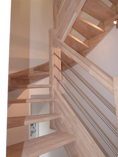 Escaliers bois metal
