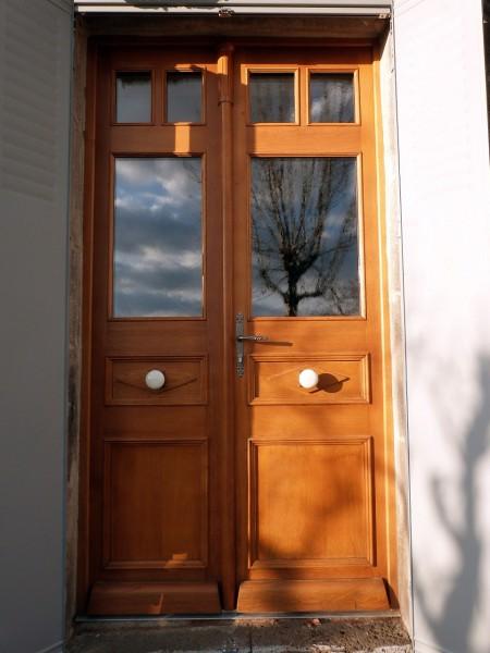 porte d'entrée double