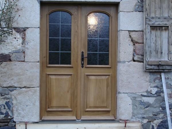 porte double vitrée
