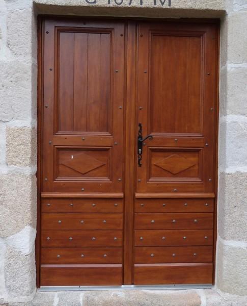 Porte d'entrée sur mesure